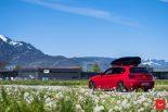 Vossen Wheels VFS 1 BMW 1er F20 Tuning 14 155x103 Vossen Wheels VFS 2 Alu's am knallroten BMW 1er F20