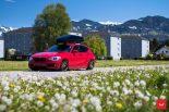Vossen Wheels VFS 1 BMW 1er F20 Tuning 18 155x103 Vossen Wheels VFS 2 Alu's am knallroten BMW 1er F20