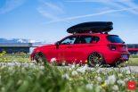 Vossen Wheels VFS 1 BMW 1er F20 Tuning 2 155x103 Vossen Wheels VFS 2 Alu's am knallroten BMW 1er F20