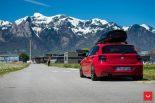 Vossen Wheels VFS 1 BMW 1er F20 Tuning 21 155x103 Vossen Wheels VFS 2 Alu's am knallroten BMW 1er F20