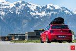 Vossen Wheels VFS 1 BMW 1er F20 Tuning 6 155x103 Vossen Wheels VFS 2 Alu's am knallroten BMW 1er F20
