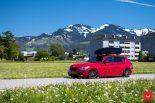 Vossen Wheels VFS 1 BMW 1er F20 Tuning 8 155x103 Vossen Wheels VFS 2 Alu's am knallroten BMW 1er F20