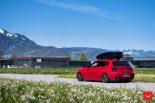 Vossen Wheels VFS 1 BMW 1er F20 Tuning 9 155x103 Vossen Wheels VFS 2 Alu's am knallroten BMW 1er F20
