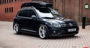 Vossen Wheels VFS 5 VW Tiguan Thule Dachbox Tuning 3 310x165 Nach Crash: Ken Block baut am neuen Ford Escort Cosworth!