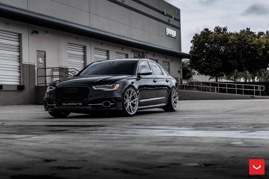 Vossen Wheels VFS-6 Alu's at the Audi S6 C7 sedan