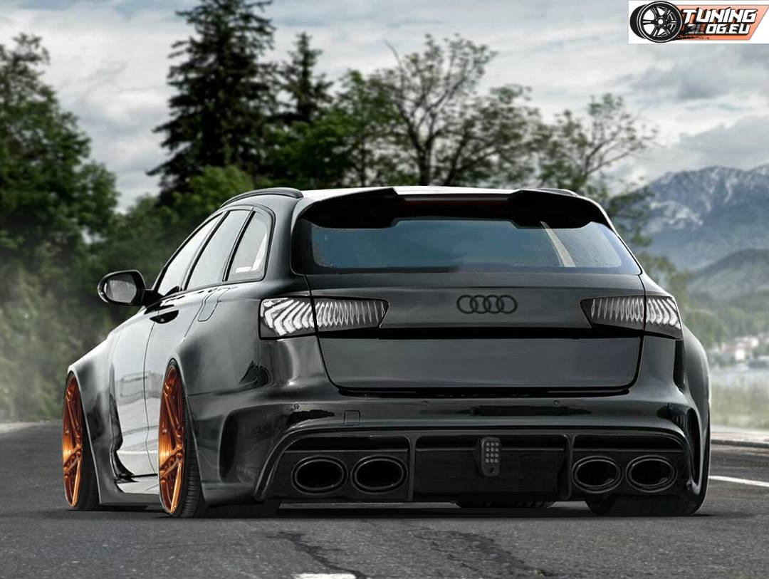 Rendering Tuningblog Eu Widebody Audi Rs6 S7 Amp Rs7