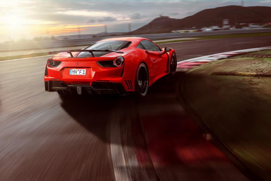 Widebody Ferrari 488 GTB N Largo Tuner Novitec 2017 20 Widebody Ferrari 488 GTB N Largo vom Tuner Novitec