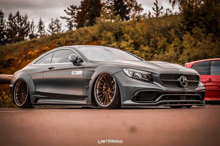 Widebody PD75SC Mercedes S63 AMG Tuning 1 1 Mega heftig   Widebody Mercedes S63 AMG by Boden AutoHaus