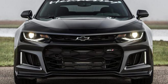 Video: 2017 Hennessey Chevrolet Camaro ZL1 HPE850