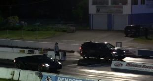 courses de drag lamborghini gallardo jeep 3 310x165 Vidéo: Drag Race Jeep Grand Cherokee contre Lamborghini Gallardo