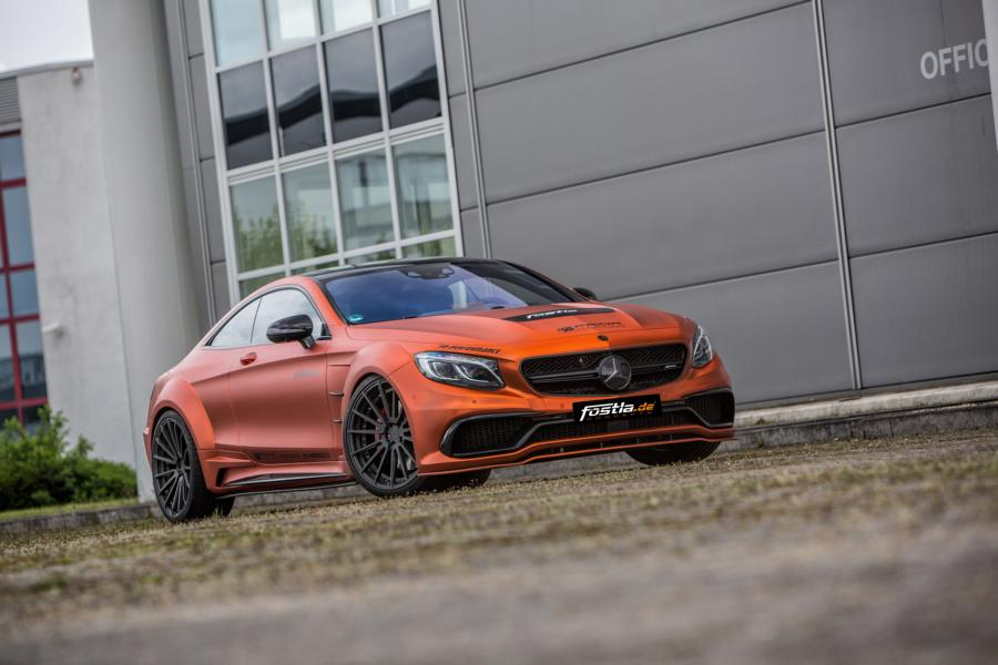 mercedes c217 s63 amg prior pd75sc widebody tuning pd4 Folierung 1 Wahnsinn   Mercedes S63 AMG PD75SC Widebody by fostla.de