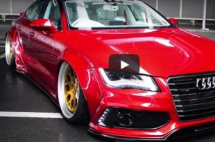 Audi A7 RSR Liberty Walk Widebody 310x205 Video: Audi A7 RSR Liberty Walk Widebody 3.0T & R8 Coupe