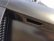 Audi R8 4S Spyder Folierung schwarz matt Goldstaub 11 190x143 Car Wrapping Kuhnert   Audi R8 Spyder in schwarz matt