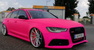 Audi RS6 C7 PINK Folierung 2017 performance cars Tuning 10 310x165 Extrem krass   performance cars.at Audi RS6 C7 in PINK