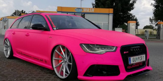 Extrem Krass Performance Cars At Audi Rs6 C7 In Pink