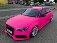 Audi RS6 C7 PINK Folierung 2017 performance cars Tuning 13 190x143 Extrem krass   performance cars.at Audi RS6 C7 in PINK