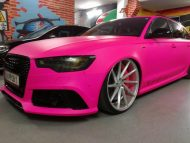 Audi RS6 C7 PINK Folierung 2017 performance cars Tuning 3 190x143 Extrem krass   performance cars.at Audi RS6 C7 in PINK