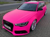 Audi RS6 C7 PINK Folierung 2017 performance cars Tuning 4 190x143 Extrem krass   performance cars.at Audi RS6 C7 in PINK
