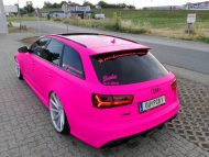 Audi RS6 C7 PINK Folierung 2017 performance cars Tuning 5 190x143 Extrem krass   performance cars.at Audi RS6 C7 in PINK