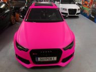 Audi RS6 C7 PINK Folierung 2017 performance cars Tuning 6 190x143 Extrem krass   performance cars.at Audi RS6 C7 in PINK