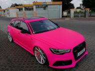 Audi RS6 C7 PINK Folierung 2017 performance cars Tuning 8 190x143 Extrem krass   performance cars.at Audi RS6 C7 in PINK