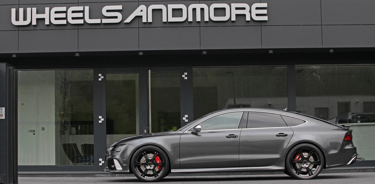 Audi RS7 Sportback wheelsandmore tuning 3 Auf den Spuren der Supersportler   820PS Audi RS7 by WAM