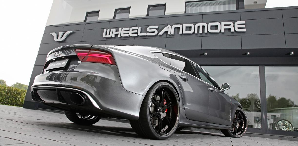 Audi RS7 Sportback wheelsandmore tuning 4 Auf den Spuren der Supersportler   820PS Audi RS7 by WAM