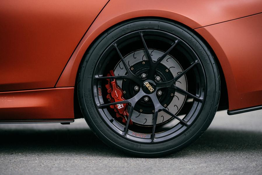 BBS FI R BMW M4 F82 Frozen Red Carbon Parts 12 Performance Technic Inc. BMW M3 F80 in Frozen Red