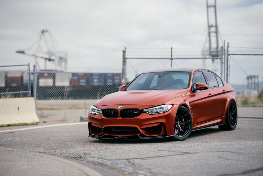 BBS FI R BMW M4 F82 Frozen Red Carbon Parts 26 Performance Technic Inc. BMW M3 F80 in Frozen Red