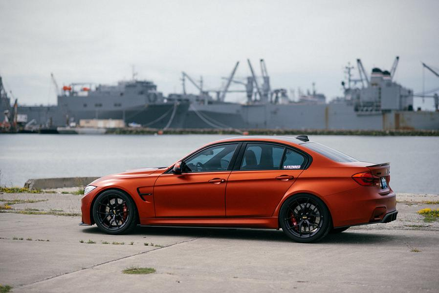 BBS FI R BMW M4 F82 Frozen Red Carbon Parts 5 Performance Technic Inc. BMW M3 F80 in Frozen Red