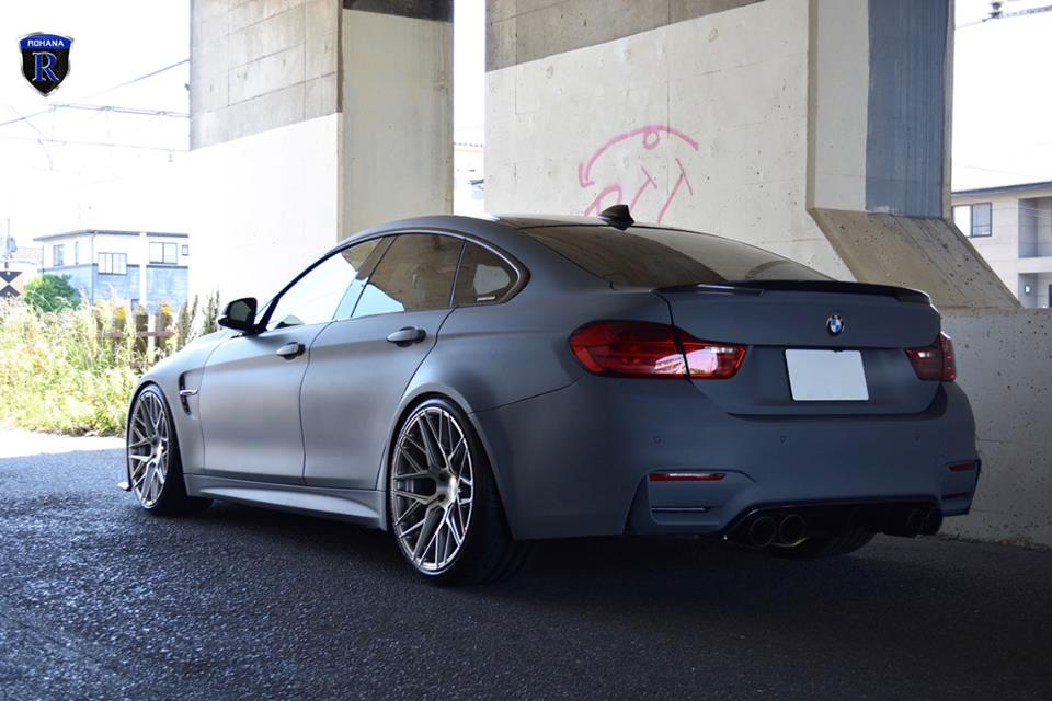 Krasses Outfit Dull Gray Bmw 428i On Rxf10 Rims