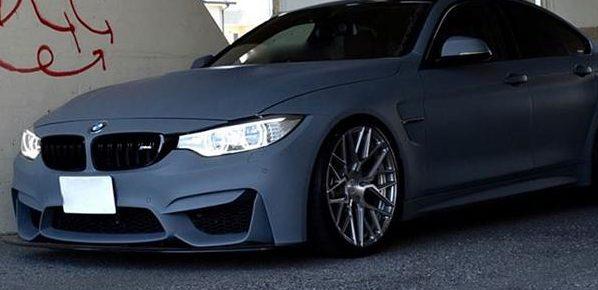 BMW 428i F36 Gran Coupe Rohana RXF10 mattgrau Tuning 6 1 e1498024643988 Krasses Outfit   mattgrauer BMW 428i auf RXF10 Felgen