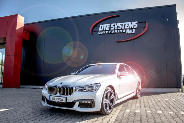 BMW 750d G11 xDrive DTE Pedalbox Chiptuning 6 447PS & 883NM im BMW 750d G11 xDrive dank DTE Systems
