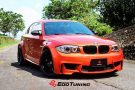 BMW E82 1M Coupe HRE FF15 Valencia orange Tuning 1 135x90 Dezent   BMW E82 1M Coupe auf HRE FF15 Felgen by EDO