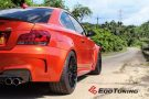 BMW E82 1M Coupe HRE FF15 Valencia orange Tuning 10 135x90 Dezent   BMW E82 1M Coupe auf HRE FF15 Felgen by EDO