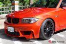 BMW E82 1M Coupe HRE FF15 Valencia orange Tuning 17 135x90 Dezent   BMW E82 1M Coupe auf HRE FF15 Felgen by EDO