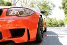 BMW E82 1M Coupe HRE FF15 Valencia orange Tuning 28 135x90 Dezent   BMW E82 1M Coupe auf HRE FF15 Felgen by EDO