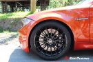 BMW E82 1M Coupe HRE FF15 Valencia orange Tuning 32 135x90 Dezent   BMW E82 1M Coupe auf HRE FF15 Felgen by EDO