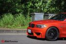 BMW E82 1M Coupe HRE FF15 Valencia orange Tuning 4 135x90 Dezent   BMW E82 1M Coupe auf HRE FF15 Felgen by EDO