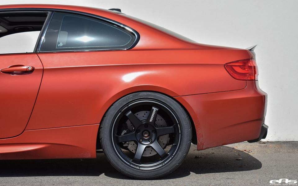 BMW E92 M3 Frozen Red Tuning ESS VT650 12 Unscheinbar   650PS BMW E92 M3 in Frozen Red by EAS