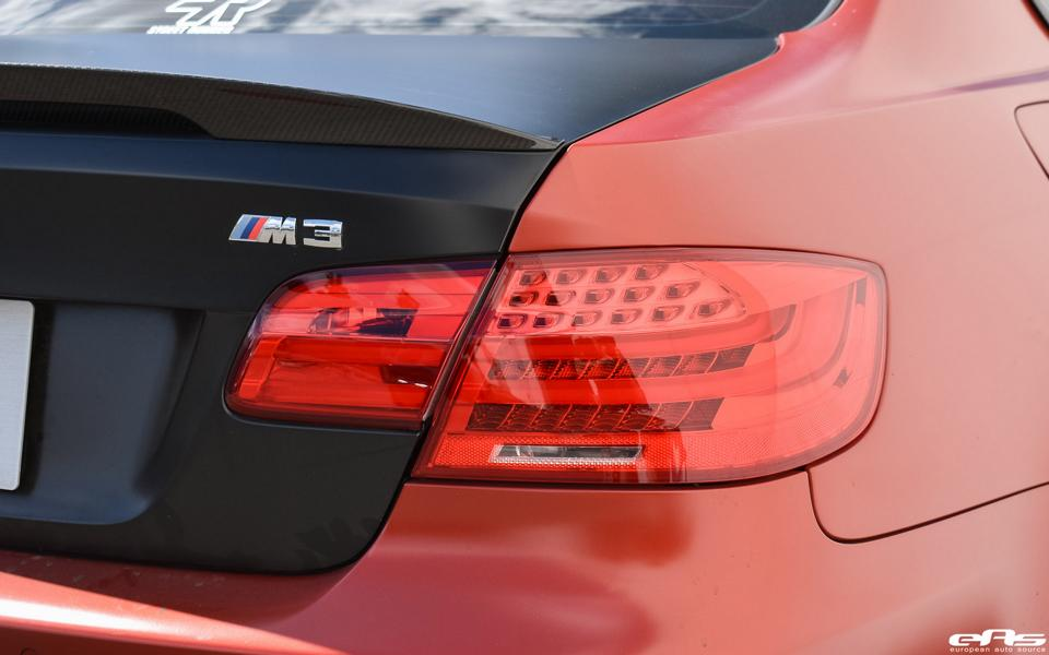 BMW E92 M3 Frozen Red Tuning ESS VT650 2 Unscheinbar   650PS BMW E92 M3 in Frozen Red by EAS