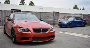 BMW E92 M3 Frozen Red Tuning ESS VT650 23 310x165 Volk TE37SL Alu's & Carbon Bodykit am EAS BMW E92 M3
