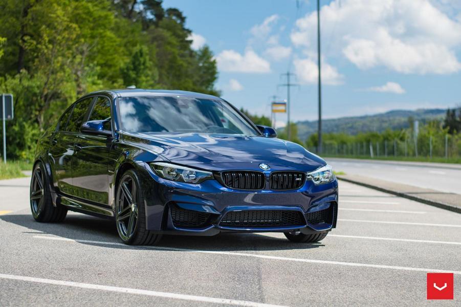 BMW F80 M3 VFS5 vossen Tuning 23 20 Zoll Vossen VFS 5 Felgen an der BMW M3 F80 Limo