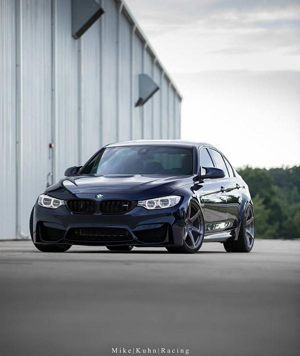 Brixton Wheels Dinan Power BMW M3 F80 Tuning 10 Brixton Wheels & Dinan Power in der BMW M3 F80 Limo