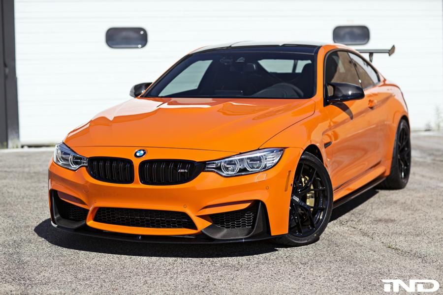 Ind Distribution Bmw M4 F82 Coupe In Fire Orange Ii