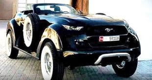 Ford Mustang 4x4 Convertible 20er Jahre Look 1 310x165 Verrückt   Ford Mustang 4x4 Convertible im 20er Jahre Look
