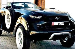 Ford Mustang 4x4 Convertible 20er Jahre Look 1 310x205 Verrückt   Ford Mustang 4x4 Convertible im 20er Jahre Look