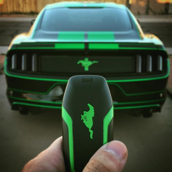 Quot The Green Machine Quot Krasser Tron Ford Mustang