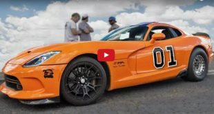 Generall LEE 2.300PS Dodge Viper Turbo 310x165 Video: Generall LEE Style & 2.300PS in der Dodge Viper