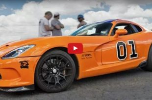 Generall LEE 2.300PS Dodge Viper Turbo 310x205 Video: Generall LEE Style & 2.300PS in der Dodge Viper